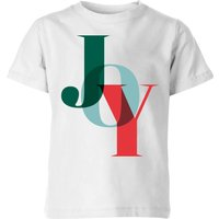 Graphical Joy Kids' T-Shirt - White - 11-12 Years - White