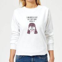I'm Broke As Shit Women's Sweatshirt - White - L - White