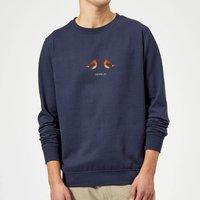 Christmas Love Sweatshirt - Navy - S - Navy