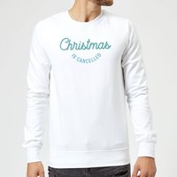 Christmas Is Cancelled Sweatshirt - White - L - White
