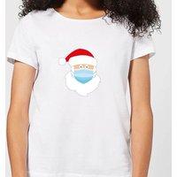 Covid Santa Women's T-Shirt - White - L - White