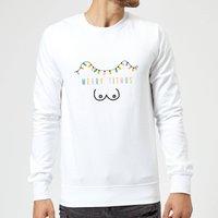 Merry Titmus Sweatshirt - White - XXL - White