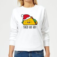 Taco Ho Ho! Women's Sweatshirt - White - XL - White