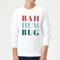Bah Hum Bug Sweatshirt - White - M - White