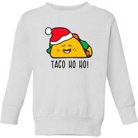 Taco Ho Ho! Kids' Sweatshirt - White - 3-4 Years - White