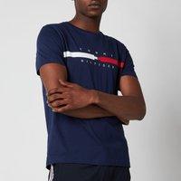 Tommy Hilfiger Men's Global Chest Stripe T-Shirt - Yale Navy - M
