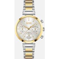 BOSS Hugo Boss Women's Flawless Metal Link Watch - Silver/Gold