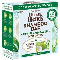 Garnier Ultimate Blends Coconut Hydrating Shampoo Bar with Aloe Vera for Normal Hair 60g