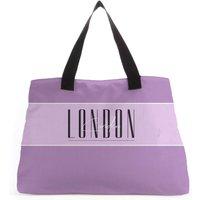 London Large Tote Bag