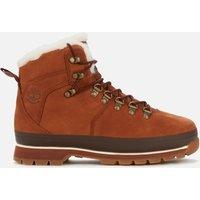 Timberland Women's Euro Hiker Furlined Boots - Saddle - UK 4