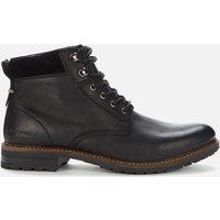 Barbour Mens Wolsingham Weatherproof Leather Lace Up Boots - Black - UK 10