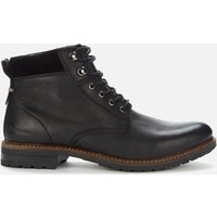 Barbour Men's Wolsingham Weatherproof Leather Lace Up Boots - Black - UK 8