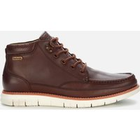 Barbour Men's Victory Leather Apron Chukka Boots - Dark Chestnut - UK 11