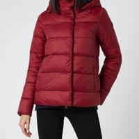Barbour Womens Limpet Quilt Coat - Carmine - UK 8