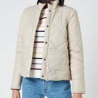 Barbour Womens Whelk Quilt Coat - Mist - UK 8