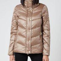 Barbour International Womens Parson Quilt Coat - Soft Gold - UK 14
