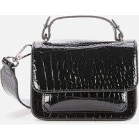 shop for HVISK Women's Renei Croco Cross Body Bag - Black at Shopo