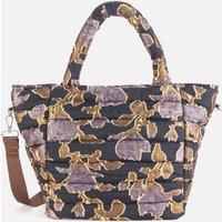 shop for HVISK Women's Valley Night Lily Medium Tote Bag - Night Blue Multi at Shopo