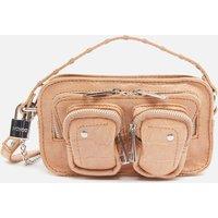 Nunoo Women's Helena Croco Cross Body Bag - Beige