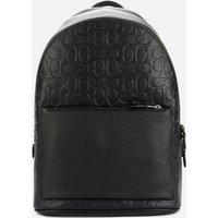 Coach Men's Metropolitan Soft Backpack in Signature Pebble Leather - Black