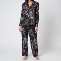 Desmond & Dempsey Women's The Jag Long Set - Navy - S