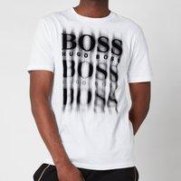 BOSS Casual Men's Tblurry4 T-Shirt - White - XXL