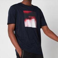 BOSS Casual Mens Tiris 1 T-Shirt - Dark Blue - L