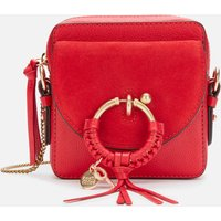 See by Chloé Womens Joan Camera Bag - Red Flame