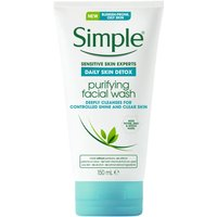 Simple Daily Detox Purifying Face Wash 150ml
