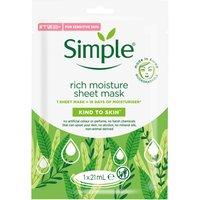 Simple Sheet Mask Rich Moisture (1 Piece)