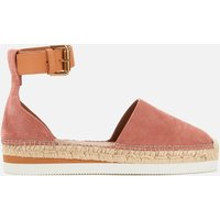 See By Chloe Women's Glyn Leather Espadrilles - Pink - UK 4