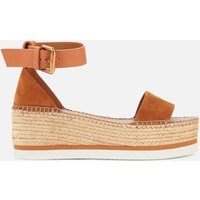See By Chloe Women's Glyn Flatform Espadrille Sandals - Light Pastel Brown - UK 5