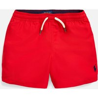 Polo Ralph Lauren Boys' Swim Shorts - Red - 10 Years