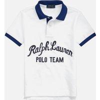 Polo Ralph Lauren Boys' Logo Polo Top - White Multi - 10 Years