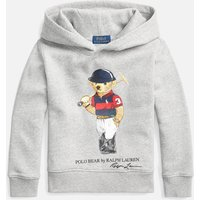Polo Ralph Lauren Boys' Long Sleeved Hooded Top - Andover Heather - 6 Years