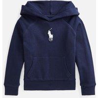 Polo Ralph Lauren Girls' Logo Hoodie - Navy - 6 Years