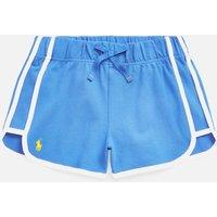 Polo Ralph Lauren Girl's Side Stripe Shorts - Blue - 8 Years