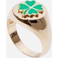 Wilhelmina Garcia Women's Clover Ring - Gold - EU 46