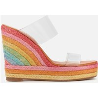 Kurt Geiger London Women's Ariana Wedged Sandals - Multi - UK 8