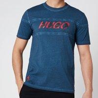 HUGO X Liam Payne Mens Dappel T-Shirt - Dark Blue - S