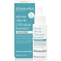 this works Stress Check CBD Skin Booster