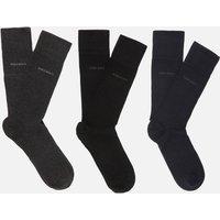 BOSS Men's Gift Boxed Three Pack Socks - Black/Navy/Grey