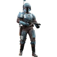 Zavvi ES|Hot Toys Star Wars The Mandalorian Action Figure 1/6 Death Watch Mandalorian 30 cm