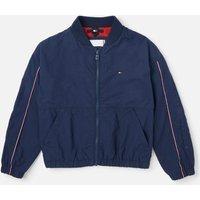 Tommy Hilfiger Girls' Essential Logo Jacket - Twilight Navy - 8 Years
