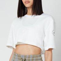 adidas by Stella McCartney Women's Asmc Future Playground Crop T-Shirt - White - M