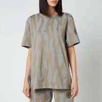 adidas by Stella McCartney Women's Asmc Future Playground T-Shirt - Clay/Dove Grey - L