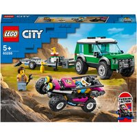 LEGO City: Great Vehicles Race Buggy Transporter Toy (60288)