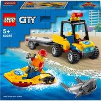 LEGO City: Great Vehicles Beach Rescue ATV Toy (60286)