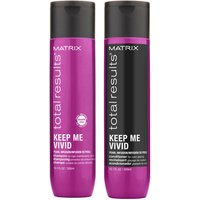 Matrix Keep Me Vivid Colour Protecting Shampoo and Conditioner Duo Set For High Maintenance Coloured