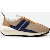 Lanvin Men's Running Trainers - Light Beige/Blue - UK 8